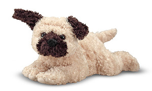 Pugsley Pug Puppy Dog Stuffed Animal