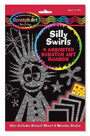 Scratch Art® Silly Swirls