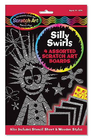 Scratch Art® Silly Swirls