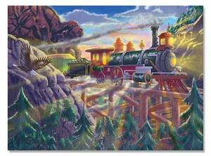 Eagle Canyon Cardboard Jigsaw Puzzle - 200 Pieces
