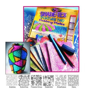 Scratch Art Shade-Tex Rubbing Plates - Nature Two Set