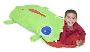 Augie Alligator Child's Sleeping Bag
