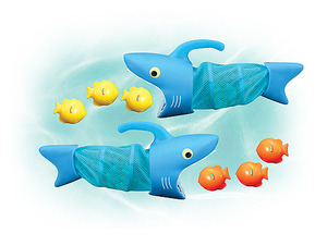 Spark Shark Fish Hunt Pool Toy