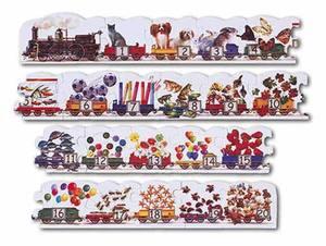 Number Train Floor Puzzle - 21 Pieces