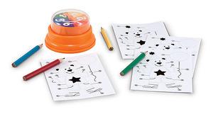 Birthday Bear Press & Spin Game