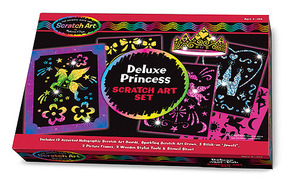 Scratch Art® Deluxe Princess Set
