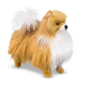 Pomeranian Dog Giant Stuffed Animal