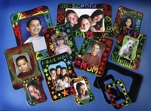 Scratch Art Photo Frames Group Pack