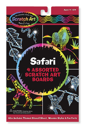 Scratch Magic® Draw & Learn® Animal Safari