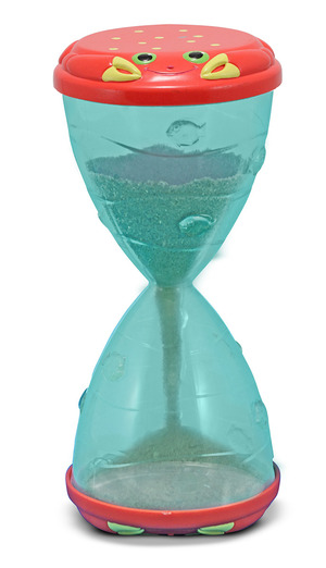 Clicker Crab Hourglass Sifter & Funnel