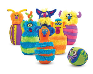 Monster Bowling Game