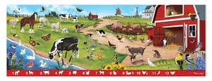 Sunny Hill Farm Search & Find Floor Puzzle - 48 pieces