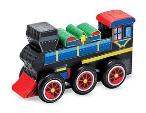 Decorate-Your-Own Train