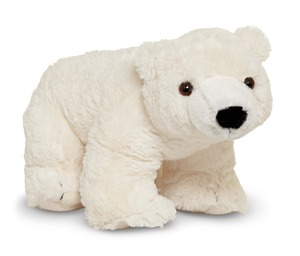 Glacier Polar Bear Cub Stuffed Animal