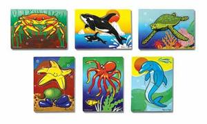 Sea Life Puzzle Set