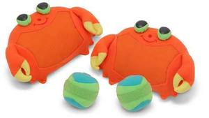 Clicker Crab Toss & Grip Game for Kids