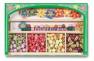 Flower Power Wooden Bead Set