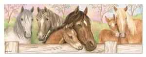Horse Corral Floor Puzzle - 48 pieces
