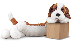Longfellow St. Bernard Stuffed Animal