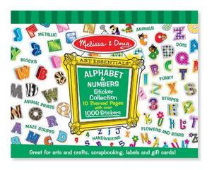 Sticker Collection - Alphabet and Numbers