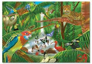 Rainforest Jigsaw Puzzle - 200 Pieces