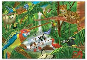 Rainforest Jigsaw Puzzle - 200 Pieces