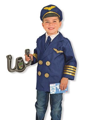 Pilot Role Play Costume Set