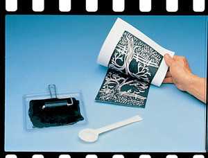 Scratch Art Subi Block Printing Paper White (100 sheets 18