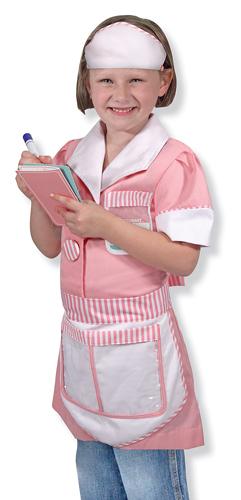 Waitress Role Play Costume Set
