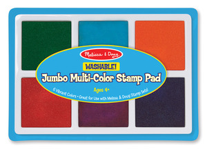 Jumbo Multi-Color Stamp Pad