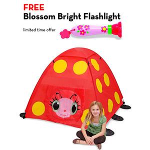 Mollie Ladybug Tent with FREE Blossom Bright Flashlight