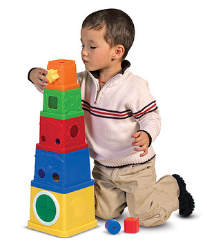 Stacking Blocks Set Learning Toy