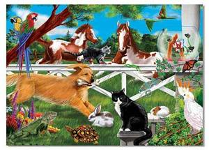 Playful Pets Jigsaw Puzzle - 30 Pieces