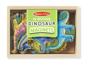 Wooden Dinosaur Magnets