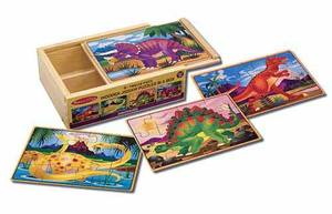 Dinosaur Jigsaw Puzzles in a Box