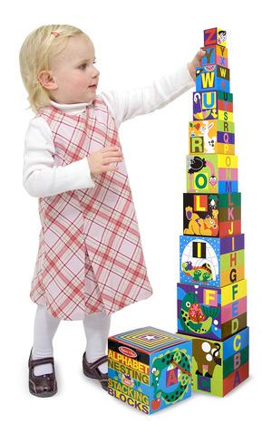 Alphabet Nesting and Stacking Blocks