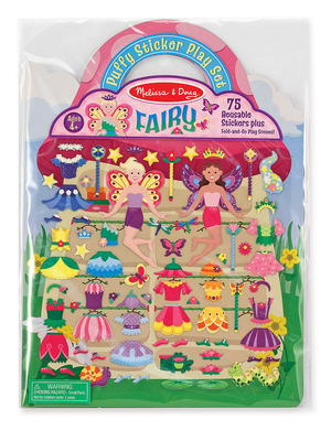 Puffy Stickers Play Set: Fairy