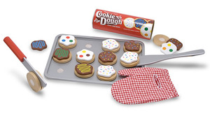 Slice and Bake Cookie Set - Wooden Play Food