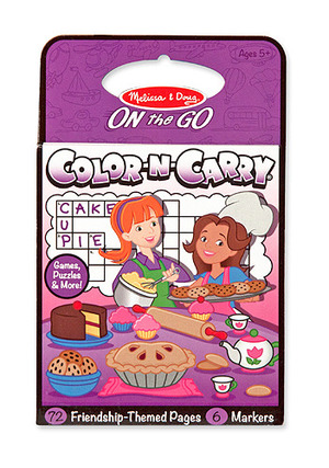 Color-N-Carry: Friendship - ON the GO Travel Activity