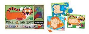 Animal Pattern Blocks Set