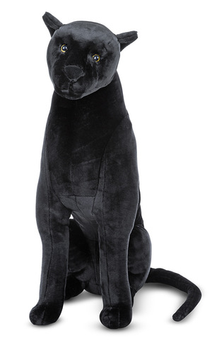 Panther Lifelike Stuffed Animal