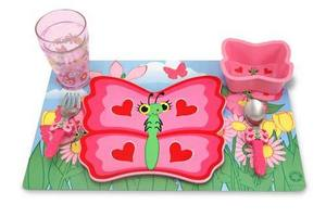 Bella Butterfly Mealtime Set