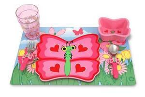 Bella Butterfly Mealtime Set