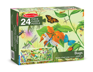 Bugs Floor Puzzle - 24 Pieces