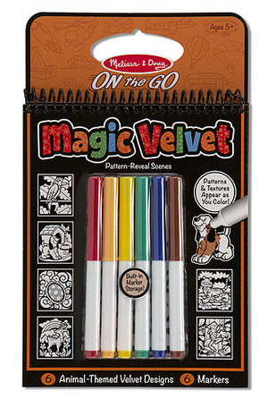 Magic Velvet Animal Scenes - ON the GO Travel Activity