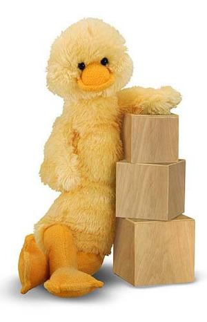 Longfellow Duck Stuffed Animal