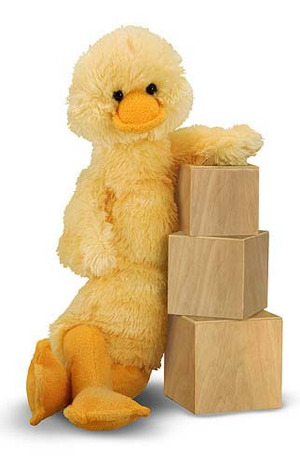 Longfellow Duck Stuffed Animal