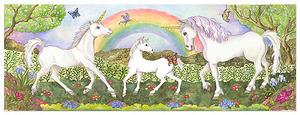 Unicorn Glade Floor Puzzle - 48 pieces