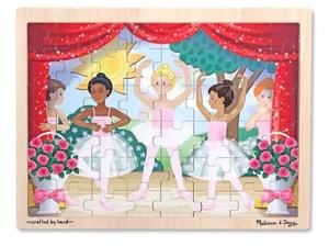 Ballet Performance Wooden Jigsaw Puzzle - 48 pieces