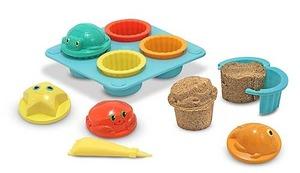 Seaside Sidekicks Sand Cupcake Set